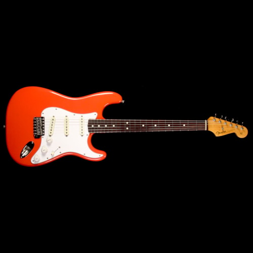 1987 Fender Used 1987 Fender American Vintage '62 Stratocaster Electric Guitar Fiesta Red