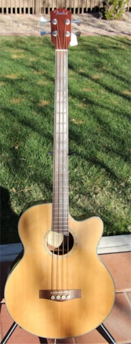 2009 Fender GB-41SCE Acoustic/Electric Bass