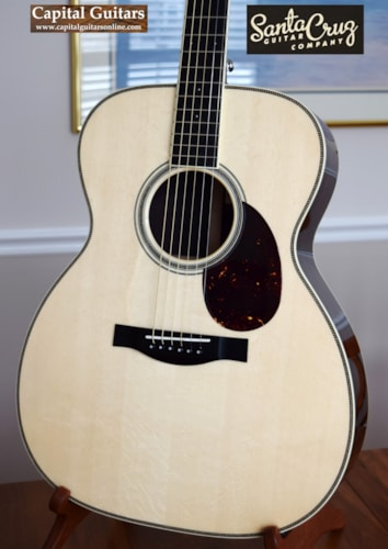 2016 Santa Cruz OM Grand with German Spruce Top