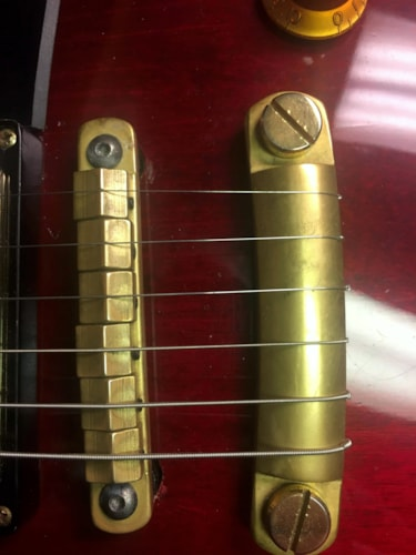 2008 Gibson Les Paul Studio Brass Hardware