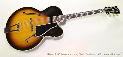 1968 Gibson L-7C