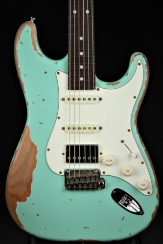 Suhr Classic Antique - Heavy Aging - Surf Green