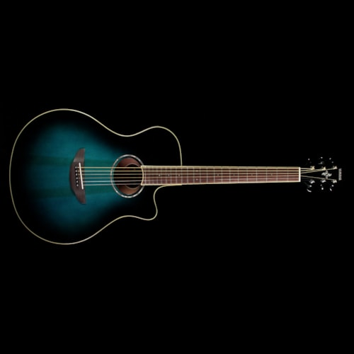 Yamaha apx600 acoustic electric guitar oriental blue burst for Yamaha credit card phone number