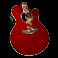 Yamaha CPX600 Acoustic-Electric Guitar Root Beer