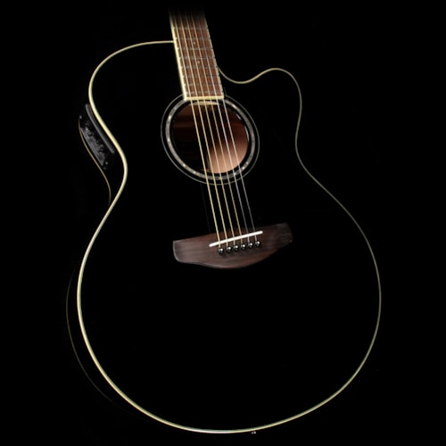 Yamaha cpx600 acoustic guitar black guitars acoustic for Yamaha credit card phone number