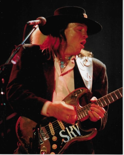 Stevie Ray Vaughan's  Guitar Strap