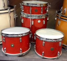 1962 Gretsch 5 pc drum set