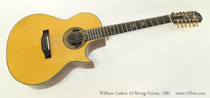 1983 Willam Laskin 12 String Custom Cutaway