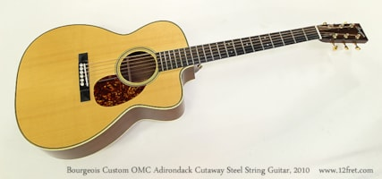 2010 Bourgeois Custom OMC