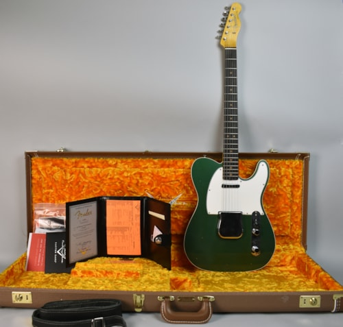 2017 Fender Custom Shop '63 Telecaster Journeyman Sherwood Green Guitar