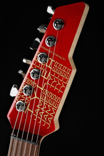James Tyler Ultimate Weapon - Transparent Red/NAMM Instrument