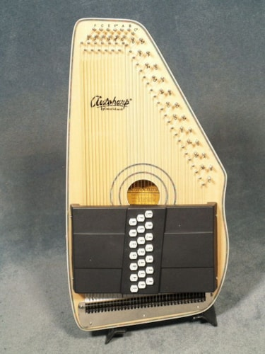 2018 Oscar Schmidt OS120CNE 21-CHORD ELECTRIC AUTOHARP with FINE TUNERS