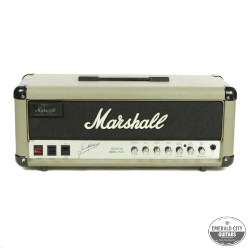 1988 Marshall JCM 25/50 Silver Jubilee Model 2553 Small Box