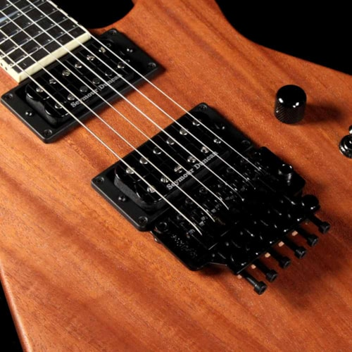 Jackson Custom Shop Exclusive SL2H-V Soloist Natural Series Electric Guitar Mahogany Natural Oil