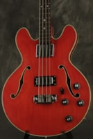 "1975 Ibanez ""lawsuit"" era EB-2D copy HOLLOW BODY bass made in"