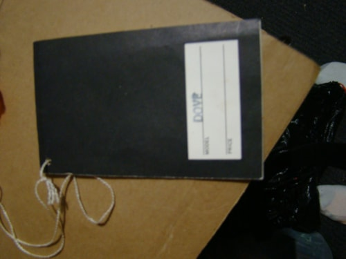 Gibson Dove Hang Tag and Open Warranty