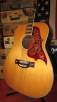1969 Yamaha FG-300 Red Label Flattop Acoustic