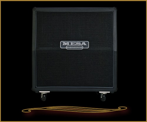 Mesa Boogie 4X12 Recto Traditional Slant Cabinet w/ Celestion Creambacks