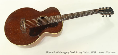 1928 Gibson L-0