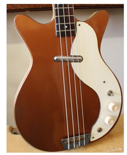 ~1961 Danelectro Shorthorn Bass model 3412
