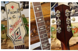 1940 FISCHER  Style C Imperial Archtop