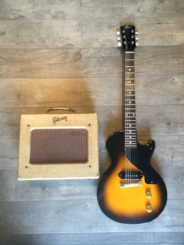 1954 Gibson Les Paul Junior with matching amp