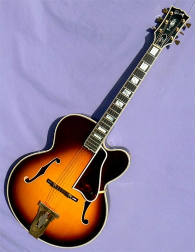 1975 Gibson L-5C, Flame Body, Gorgeous Condition