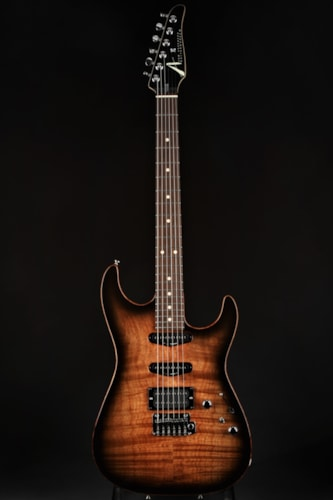 Tom Anderson Drop Top Shorty - Private Reserve Koa/Black Shaded Edge