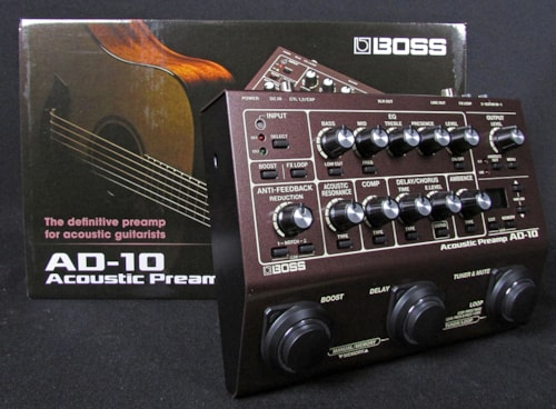 2018 BOSS AD-10 Acoustic Preamp