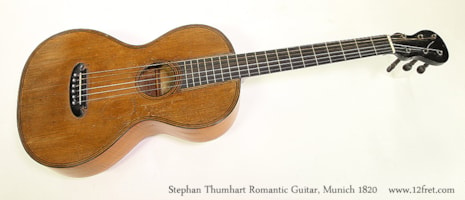 1830 Stephan Thumart Romantic Guitar
