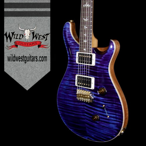 2018 Paul Reed Smith PRS 10 Top Custom 24 Flame Maple Top Ultra Violet Natural Back and Neck