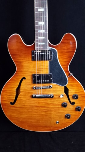 2016 Gibson ES-335 Figured Lightburst