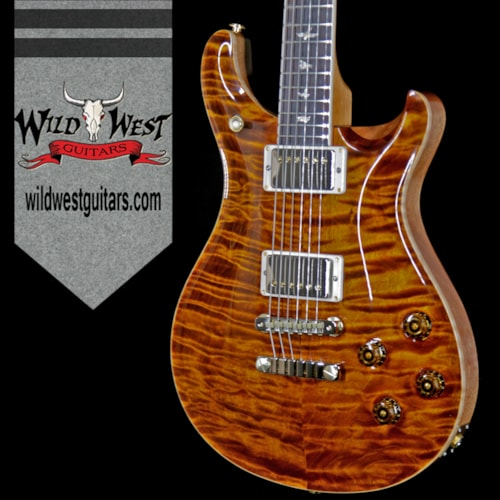 2018 Paul Reed Smith / PRS PRS Wood Libaray Artist Package McCarty 594 Quilt Maple Top Brazilian Rosewood Board Yellow Tiger