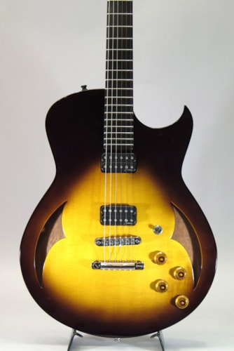 2012 Marchione Guitars Semi-Hollow Arch Top TOM Bridge and Stop Tail piece