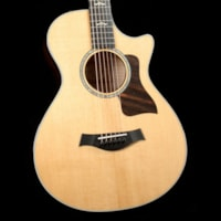 Taylor 612ce Grand Concert Acoustic-Electric Brown Sugar