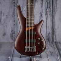 2017 Ibanez Used  Ibanez SR506 Bass, Brown Mahogany