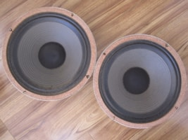 1980 VINTAGE ROLA/CELESTION G12-65 SPEAKER PAIR 16Ω