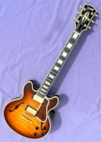 2003 Gibson CS-356, Extravagantly Flamed Body!