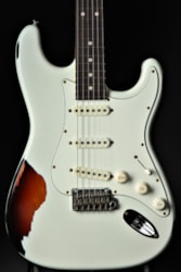 Suhr Classic Antique Pro SSS Limited - Olympic White Over 3 Tone