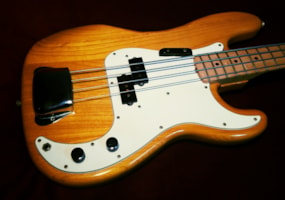 1974 Fender Precision Bass with 'A' Width Maple Neck