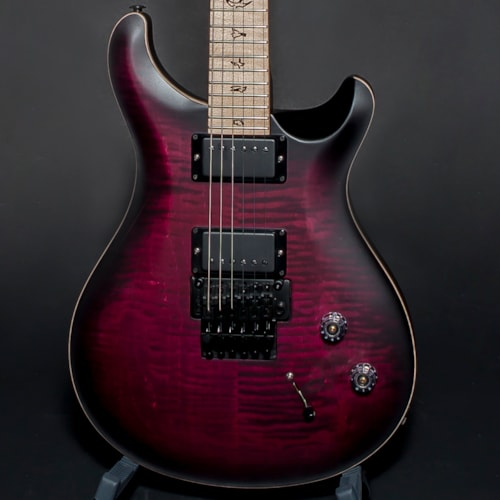 2018 paul reed smith prs dustie waring ce24 ltd ed signature floyd rose satin waring burst. Black Bedroom Furniture Sets. Home Design Ideas