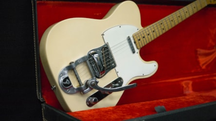 Fender Telecaster With Factory Bigsby