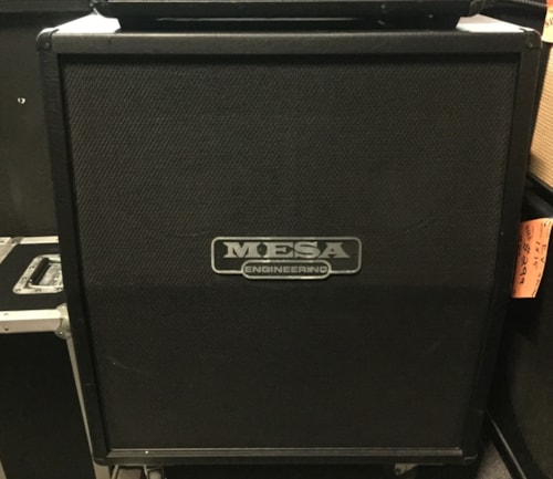 2013 Mesa Boogie 4X12 with black Grill cloth