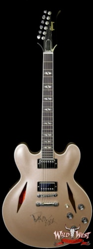 Gibson Artist Proof Guitar DG-335 Metallic Gold Dave Grohl Signed