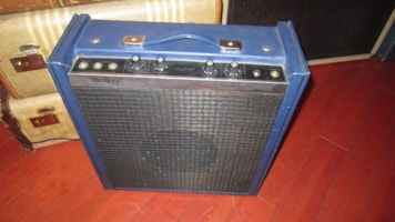 1971 Harmony H-1618 Tuck and Roll Combo Amp