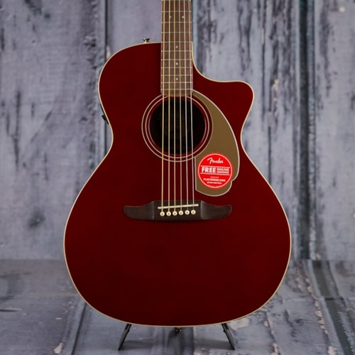 Fender California Series Newporter Player, Candy Apple Red