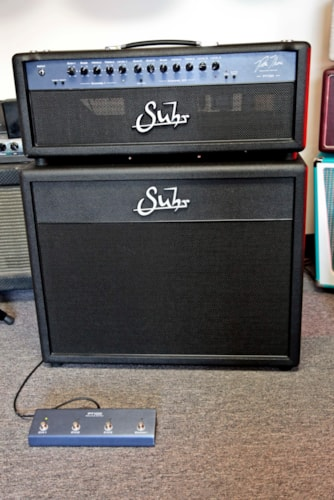 Suhr PT-100 Pete Thorn Head and Cabinet