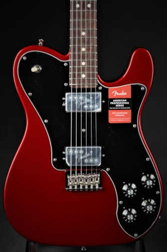 Fender American Professional Telecaster Deluxe Shawbucker- Candy Ap