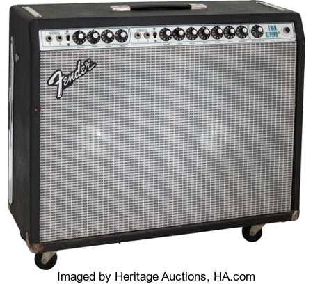 1980 Fender Twin Reverb