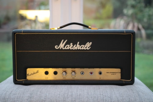 1970 Marshall Reverb Unit Model #2020 Vintage 1970 Amplifier w/ Pedal MINT
